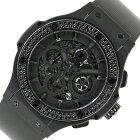 ウブロ HUBLOT ビッグバン アエロバン オールブラック 311.CI.1110.RX.1100 自動巻き メンズ 腕時計【中古】