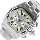カルティエ Cartier ロードスタ−クロノグラフ W62006X6 自動巻き メンズ 腕時計【中古】