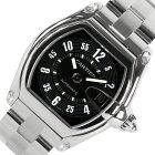 カルティエ Cartier ロードスタ−LM W62004V3 ブラック 自動巻き メンズ 腕時計【中古】