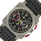 ベル&ロス Bell & Ross ルノー クロノ BR03-94-RS18 自動巻き メンズ 腕時計【中古】