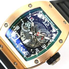 リシャール・ミル RICHARD MILLE オートマティック ル・マン クラシック スケルトン 世界150本限定 RM010 LMC 自動巻き メンズ 腕時計【中古】
