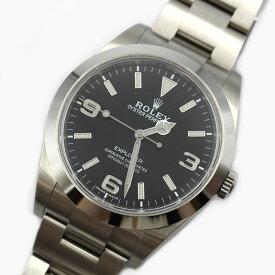 ロレックス ROLEX エクスプローラー1 214270 ブラック 自動巻き メンズ 腕時計【中古】