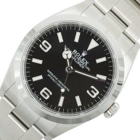 ロレックス ROLEX エクスプローラー1 124270 ブラック 自動巻き メンズ 腕時計【中古】
