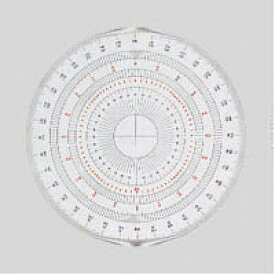 岡本製図器械[BO-15 (39-2015)]全円分度器 15cm[事務用品][デザイン用品・画材][分度器]