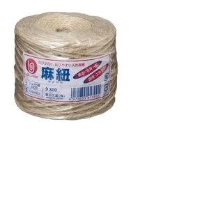 菅公工業[タ300]麻紐110m 玉巻[作業用品・制服][梱包テープ・養生テープ][紐]