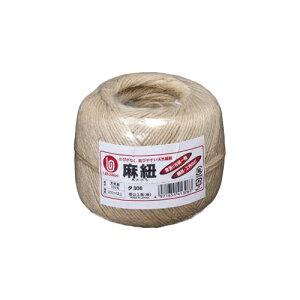 菅公工業[タ306]麻紐 丸巻 210m[作業用品・制服][梱包テープ・養生テープ][紐]