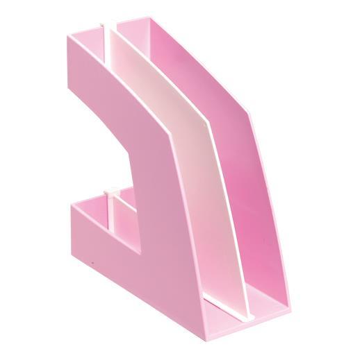 ソニック[FB-708-P]ファイルボックス 縦型 ピンク[ファイル・ケース][整理用品][ファイリングボックス]