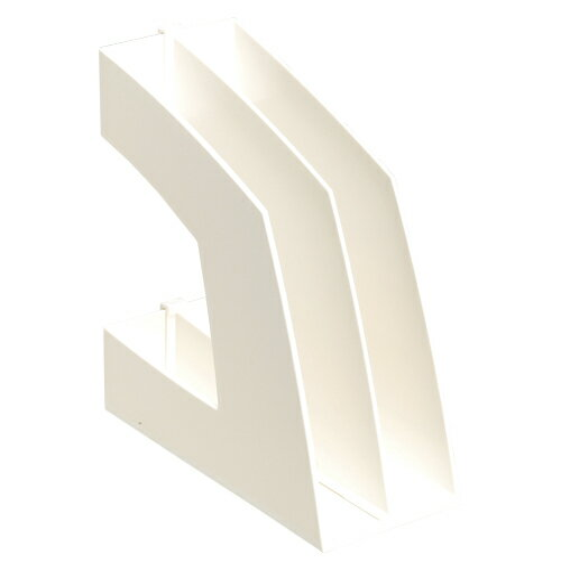 ソニック[FB-708-W]ファイルボックス 縦型 ホワイト[ファイル・ケース][整理用品][ファイリングボックス]