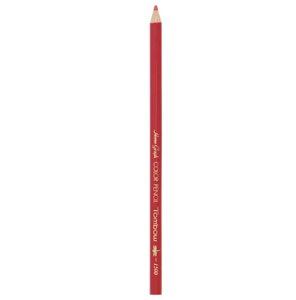 トンボ鉛筆[1500-26]色鉛筆 1500 単色 朱色[事務用品][デザイン用品・画材][色鉛筆]
