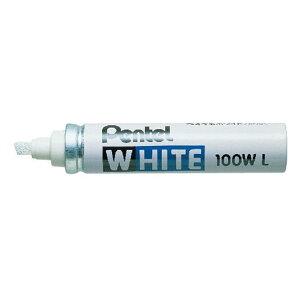 ぺんてる[X100W-LD]ホワイト<極太>[筆記具][マーカーペン・サインペン][油性マーカーペン]