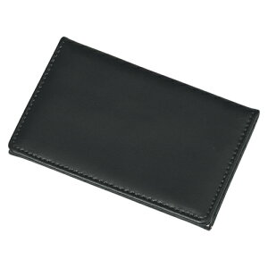 レイメイ藤井[GLN9002B]ジョッター式名刺入れ(革製) ブラック[ファイル・ケース][整理用品][名刺入れ]