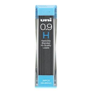三菱鉛筆[U09202ND-H]ユニシャープ芯ナノダイヤ0.9 H[筆記具][シャープペン][シャープ替芯]