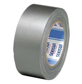 積水化学工業[NO.600 50X25 ギン]カラー布テープNO.600 50X25銀[作業用品・制服][梱包テープ・養生テープ][布テープ]