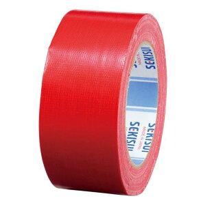 積水化学工業[600Vカラー 50X25 アカ]カラー布テープ廉価版NO.600V 赤[作業用品・制服][梱包テープ・養生テープ][布テープ]