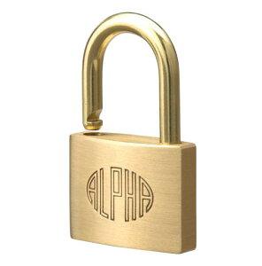 アルファ[1000-35]南京錠 1000−35[生活用品・家電][ゴミ箱・日用雑貨][南京錠]