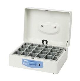 カール事務器[SB-7003]スチール印箱(中)[事務用品][印章・封筒・郵便用品][印箱]