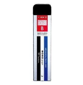 トンボ鉛筆[R3-MGB01]シャープ芯モノグラフMG0.3Bモノ[筆記具][シャープペン][シャープ替芯]