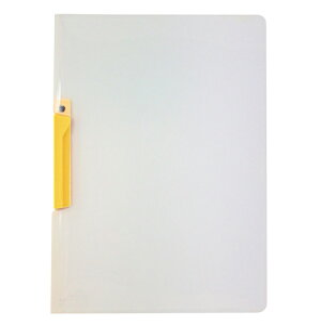 セキセイ[SSS-105-50 イエロー]クリップインファイル イエロー[ファイル・ケース][プレス式ファイル][クリップファイル]