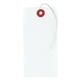 マルアイ[ニ-1]荷札 花白2号 1穴[作業用品・制服][梱包用品・養生用品][荷札]