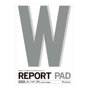 マルマン[P143A]A4レポートパッド無地[事務用品][ノート・手書き伝票][レポートパッド]