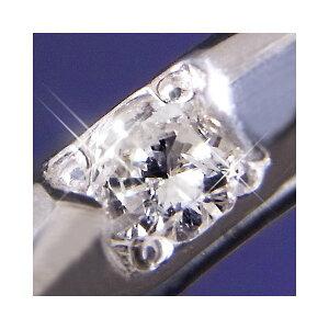 プラチナ100甲丸ダイヤモンドリング14号