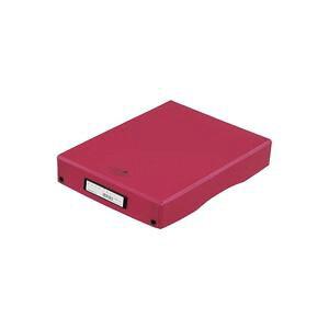 (まとめ)LIHITLAB AQUA DROPs デスクトレー トレイ A-5040-3赤【×10セット】