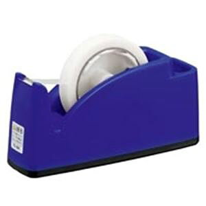 (まとめ)プラス テープカッター TC-201 ブルー【×10セット】