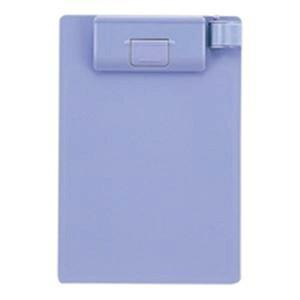(業務用20セット)LIHITLAB クリップボード/バインダー A-975U-23 A6E 青紫
