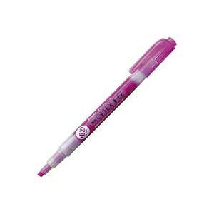(業務用30セット)ZEBRA ゼブラ 蛍光ペン 蛍光オプテックス1 EZ 【赤紫】 つめ替え式 WKS11-WR