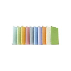 (業務用10セット) プラス フラットファイル/紙バインダー 【A4/2穴 10冊入り】 021N リーフグリーン ×10セット