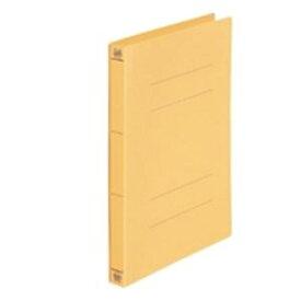 (業務用50セット) プラス フラットファイル/紙バインダー 【A4/2穴 10冊入り】 021NW イエロー(黄) ×50セット