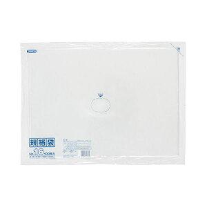 規格袋16号100枚入03LLD透明K16【(15袋×5ケース)合計75袋セット】38-461