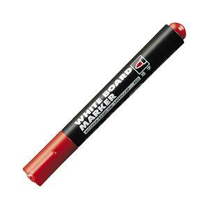 (まとめ) コクヨ ホワイトボード用マーカーペン 細字 赤 業務用パック PM-B101NR 1箱(10本) 【×5セット】