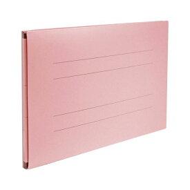 (まとめ) のび-るファイル エスヤード 紙表紙(PP貼)タフヤード(R)(背幅17-97mm) AE-51FP-21 ピンク 1冊入 【×5セット】
