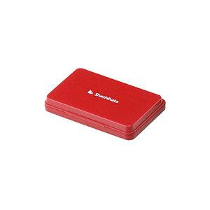(まとめ) シヤチハタ スタンプ台 大形 赤 HGN-3-R 1個 【×5セット】
