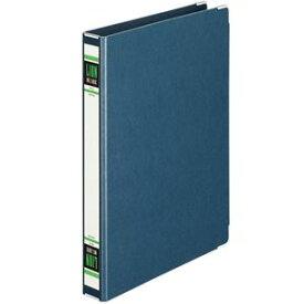 (まとめ) ライオン事務器 スプリングファイル A4タテ 2穴 300枚収容 背幅36mm 紺 No.100K-A4S 1冊 【×10セット】