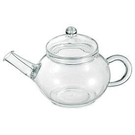 シンプル ティーポット/キッチン用品 【200ml】 耐熱ガラス製 『アサヒ』 〔台所 キッチン〕
