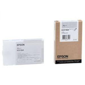(業務用10セット)EPSON(エプソン)IJインクカートリッジICGY36Aグレー【×10セット】