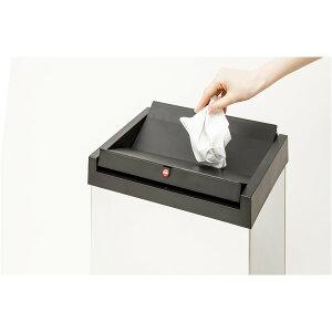 Hailo(ハイロ)ニュービッグボックス60Lホワイト(ゴミ箱・ダストBOX)60082