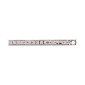 ライオン事務器 ステンレス定規 15cmPS-15 1セット(50本)