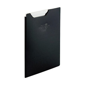 (まとめ)リヒトラブ AQUA DROPsクリップファイル A5 黒(不透明)F-5065-24 1枚【×10セット】