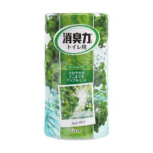 (まとめ)エステー トイレの消臭力 アップルミント400ml 1セット(5個)【×5セット】