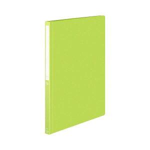 (まとめ)コクヨPPフラットファイル(POSITY) A4タテ 150枚収容 背幅18mm ライトグリーン P3フ-P10-5NLG1パック(5冊) 【×5セット】