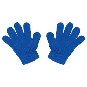 (まとめ)カラーのびのび手袋コバルトブルー【×10個セット】