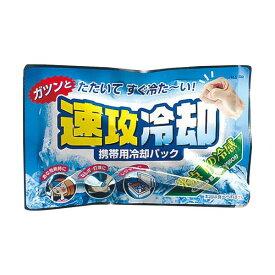 (まとめ)紀陽除虫菊 携帯用冷却パック 速攻冷却K-2001 1セット(10個)【×5セット】
