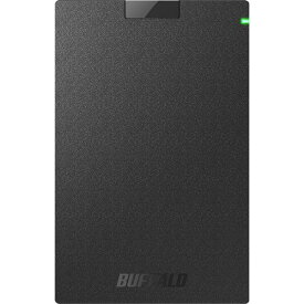 バッファロー USB3.2(Gen1)対応ポータブルHDD Type-Cケーブル付 2TB ブラック