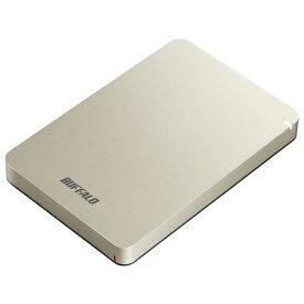 バッファロー USB3.1(Gen.1)対応 耐衝撃ポータブルHDD 1TB ゴールド HD-PGF1.0U3-GLA