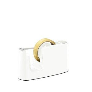 (まとめ)プラス テープカッター ホワイト TC-401【×30セット】