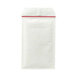 TANOSEE クッション封筒 小物用 内寸130×215mm 白 1ケース(200枚)