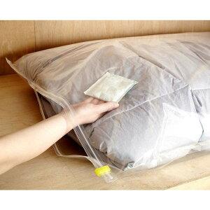 【3個セット】ラッキーシップ[布団圧縮パック用]OZO強力吸収乾燥剤4P入り(日本製)LUC-382352-3P